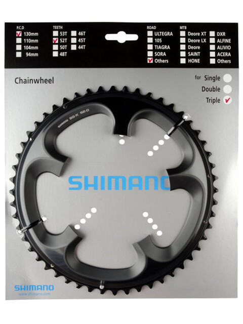 Shimano Tandem FC-R603 Klinge 10-speed højre grå